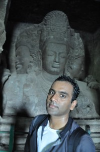 Sweating it out in Elephanta