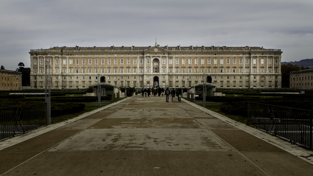 18th-Century Royal Palace at Caserta with the Park, the Aqueduct of Vanvitelli, and the San Leucio Complex