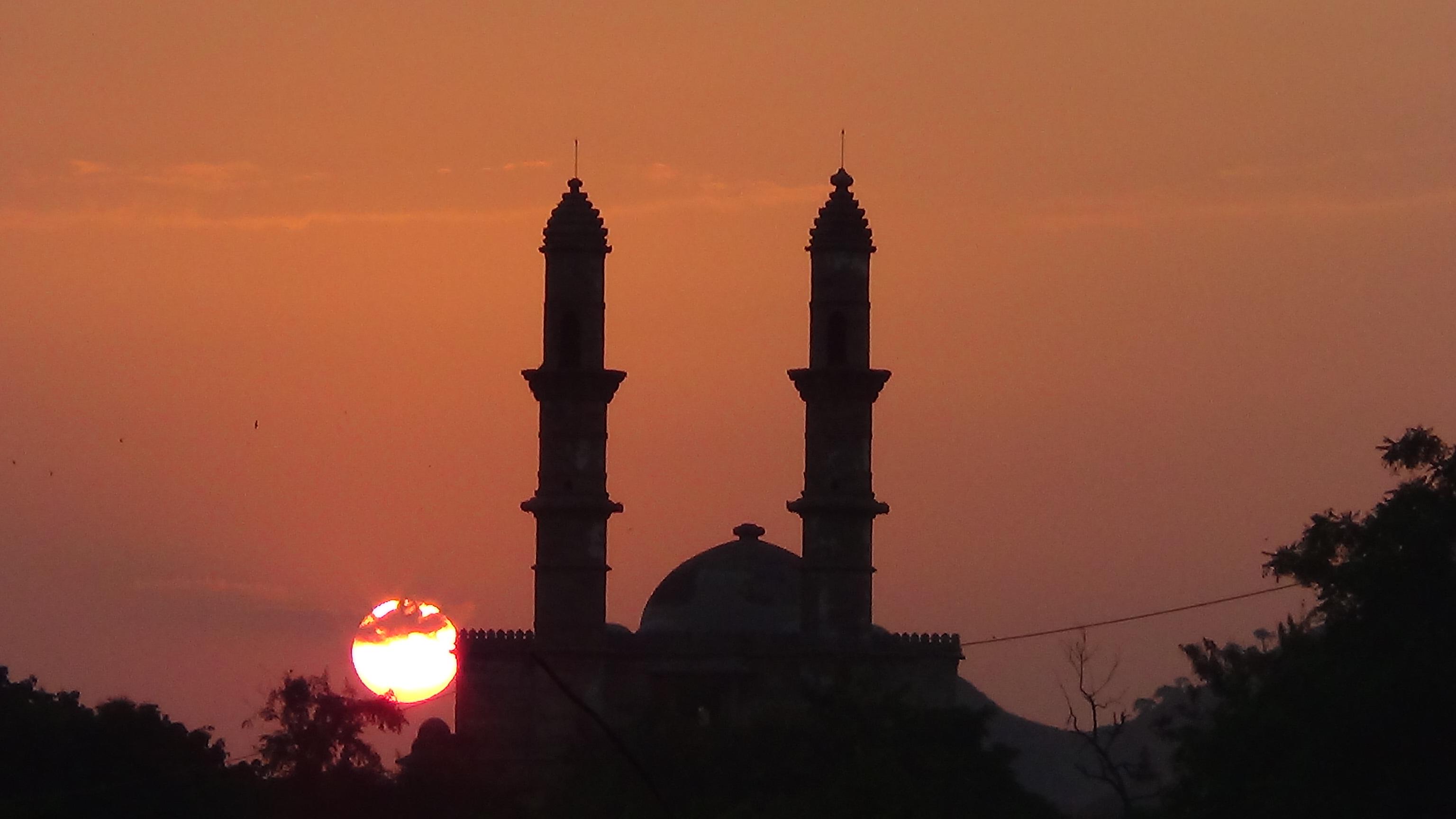 Champaner Pavagadh Sunset