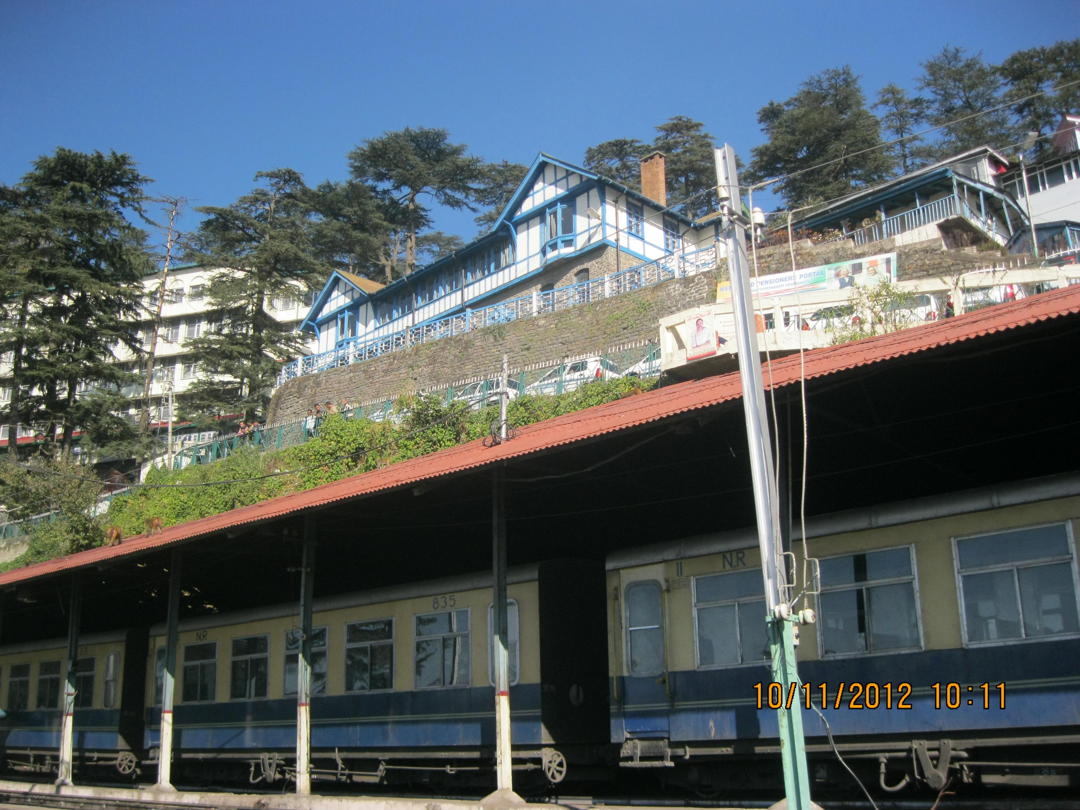 Mountain Railway Shimla Kalka