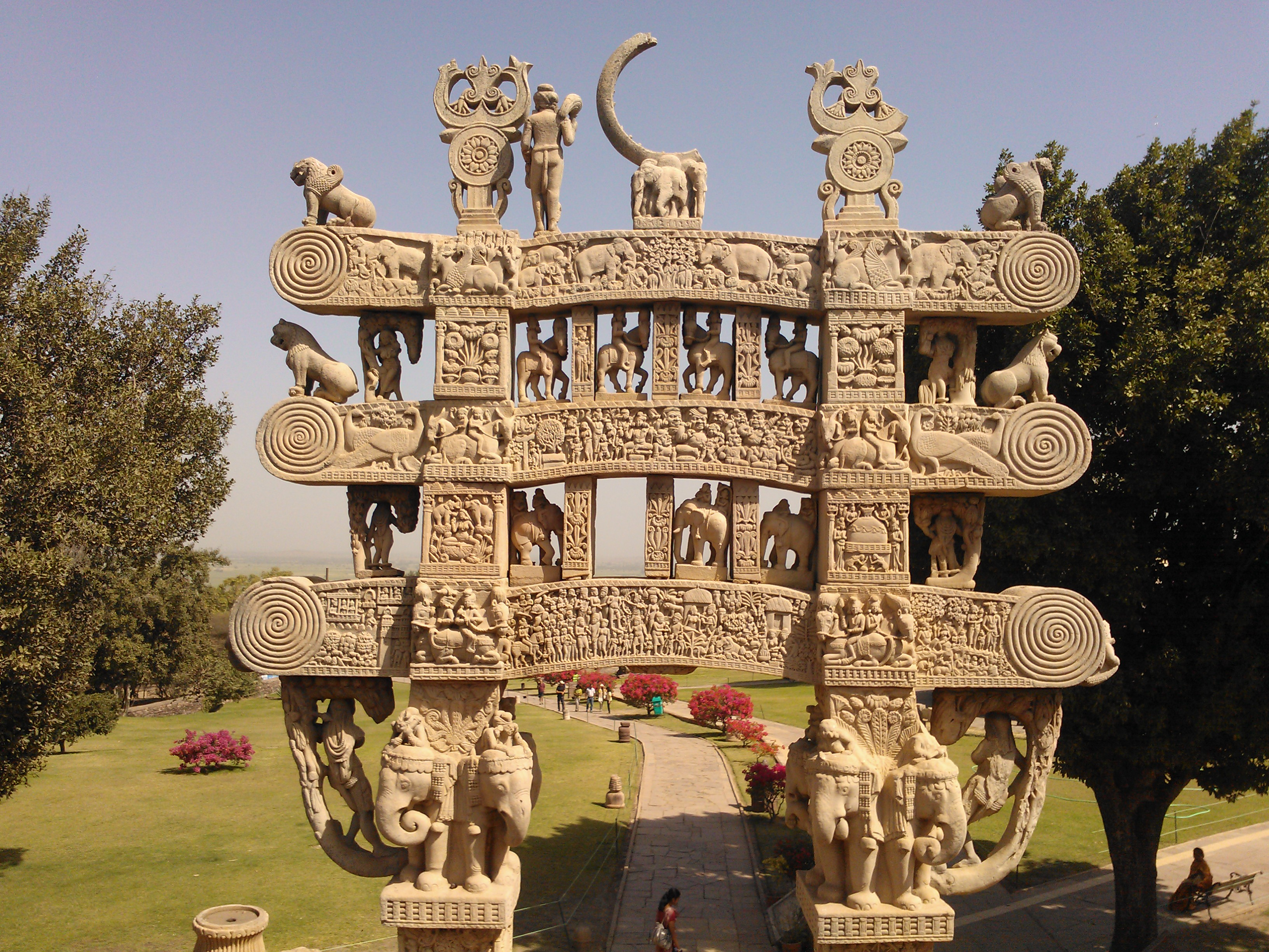 Sanchi Buddhist Monuments