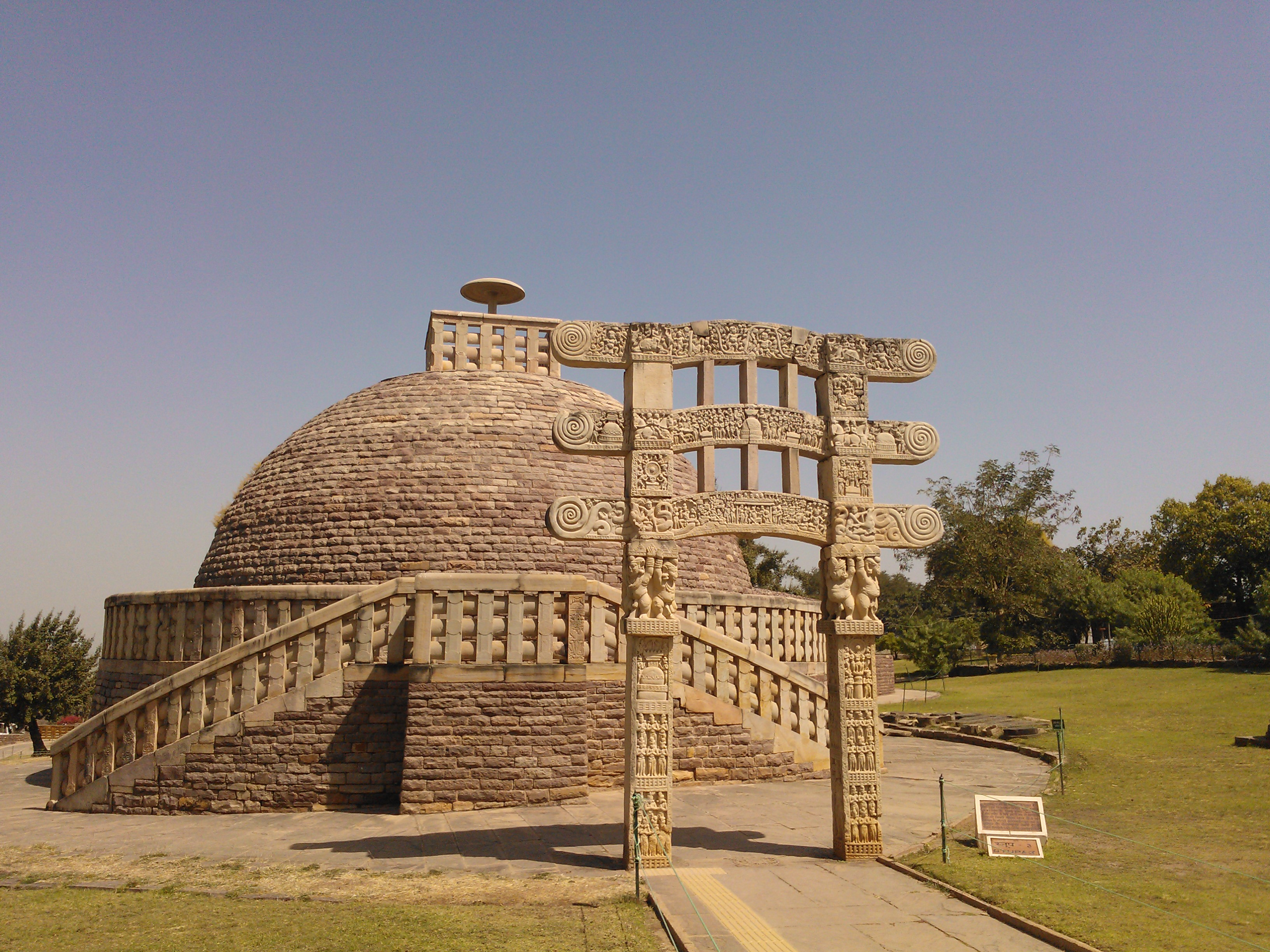 Sanchi Buddhist Monuments