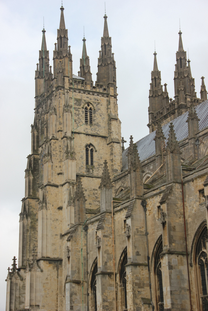 Canterbury Cathedral, St Augustine's Abbey, and St Martin's Church