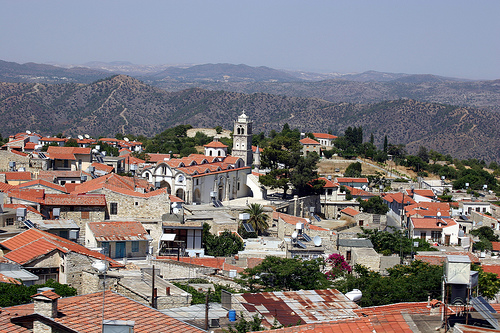 Churches in the Troodos