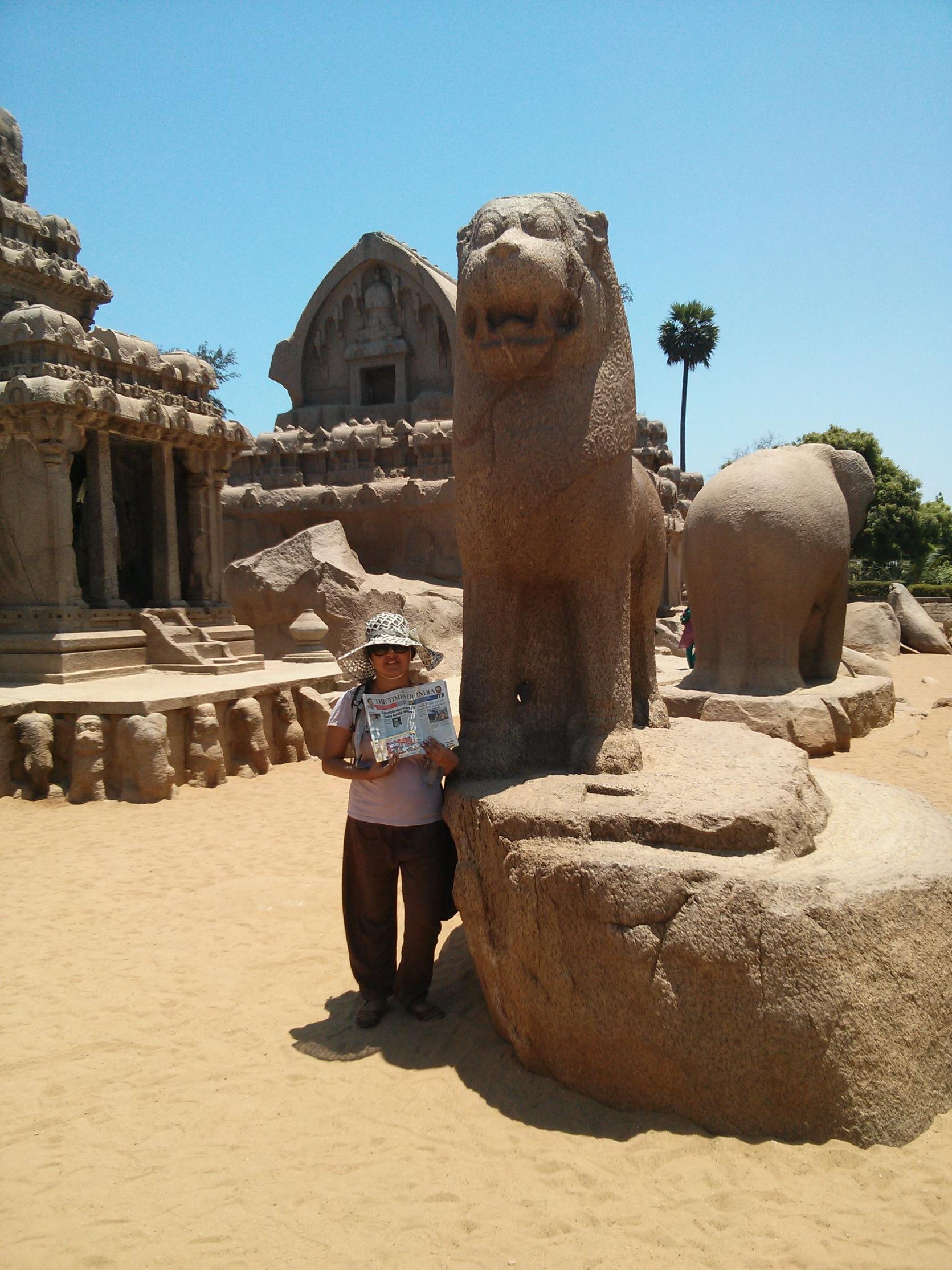 Me at Mahabalipuram