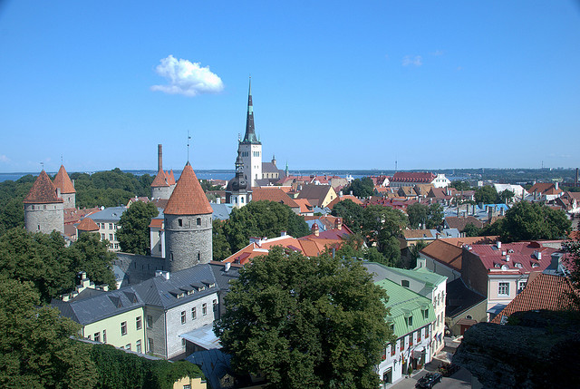 Old city of Tallin