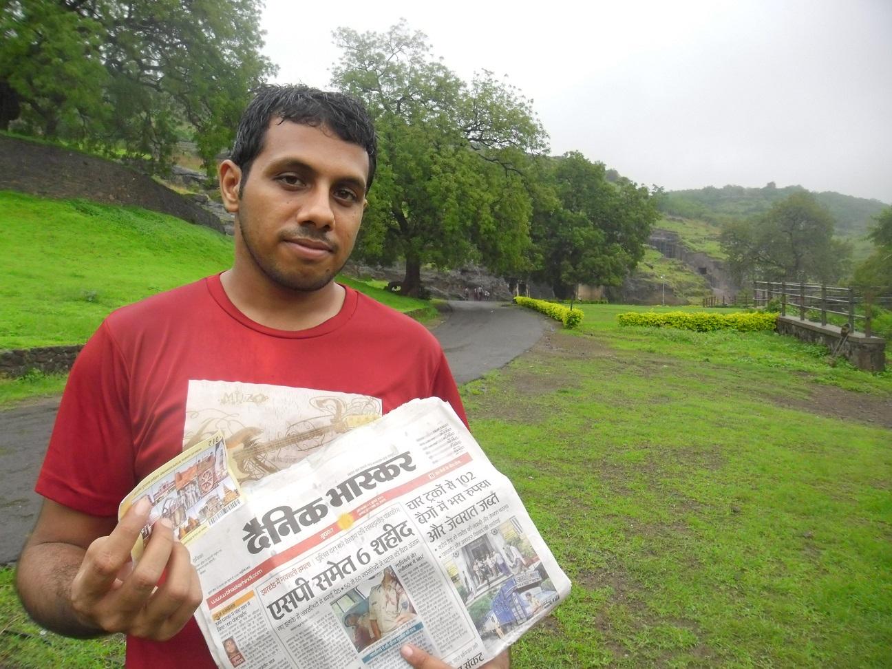 Arun Vasireddy Ellora caves