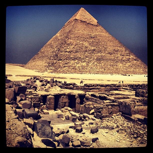 Chephren pyramids