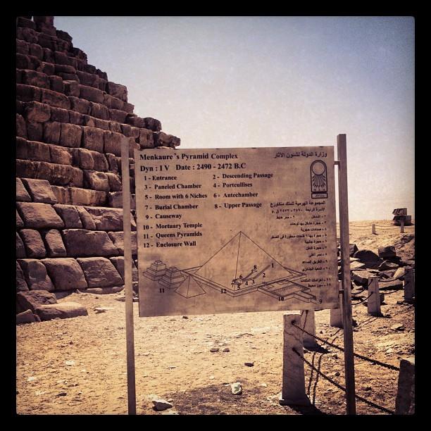 Mykerinos pyramid complex