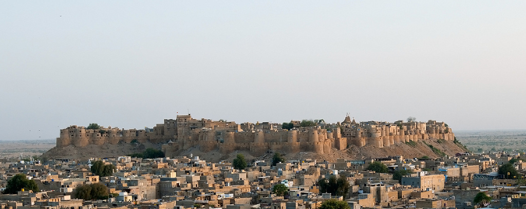 Jaisalmer fort - Hill Forts of Rajasthan