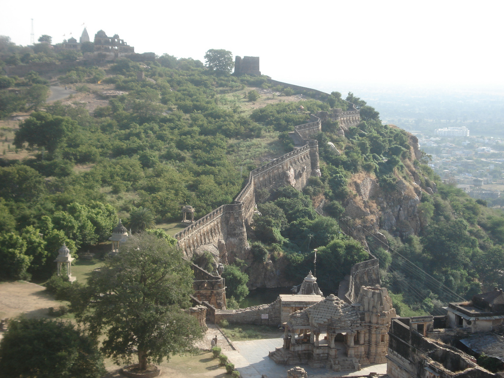 chittorgarh fort - Hill Forts of Rajasthan