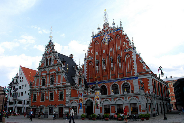 House of Blackheads Riga Latvia