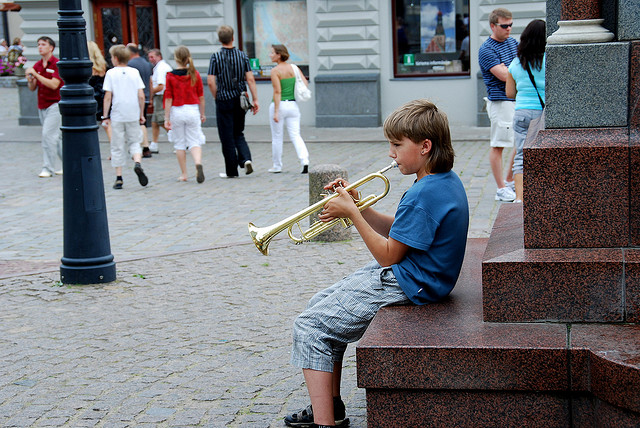 Trumpeter Riga Latvia