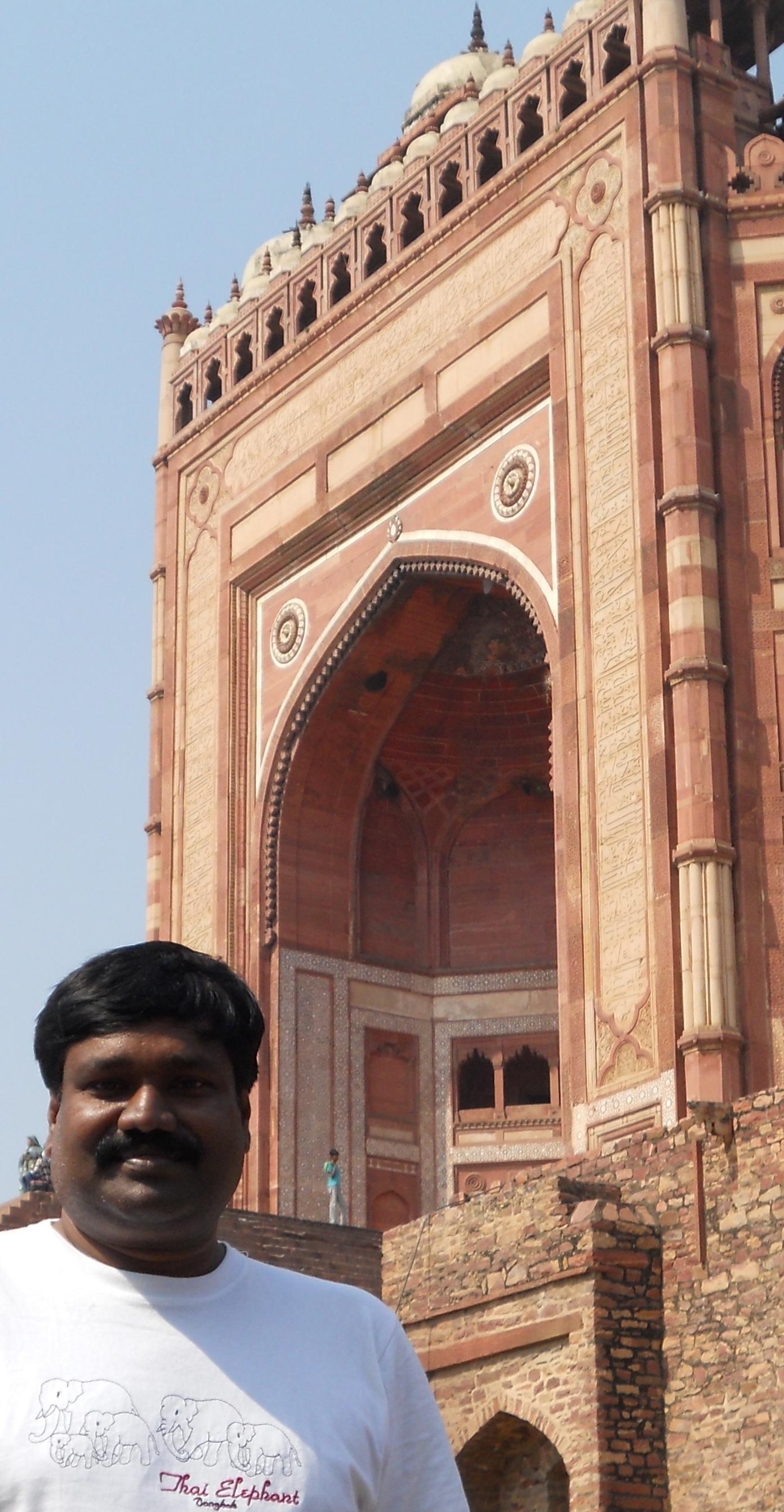 Bulan Darwaza,Fatepur sikri