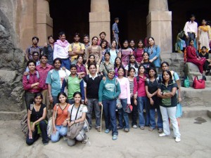 Elephanta Caves , near Mumbai