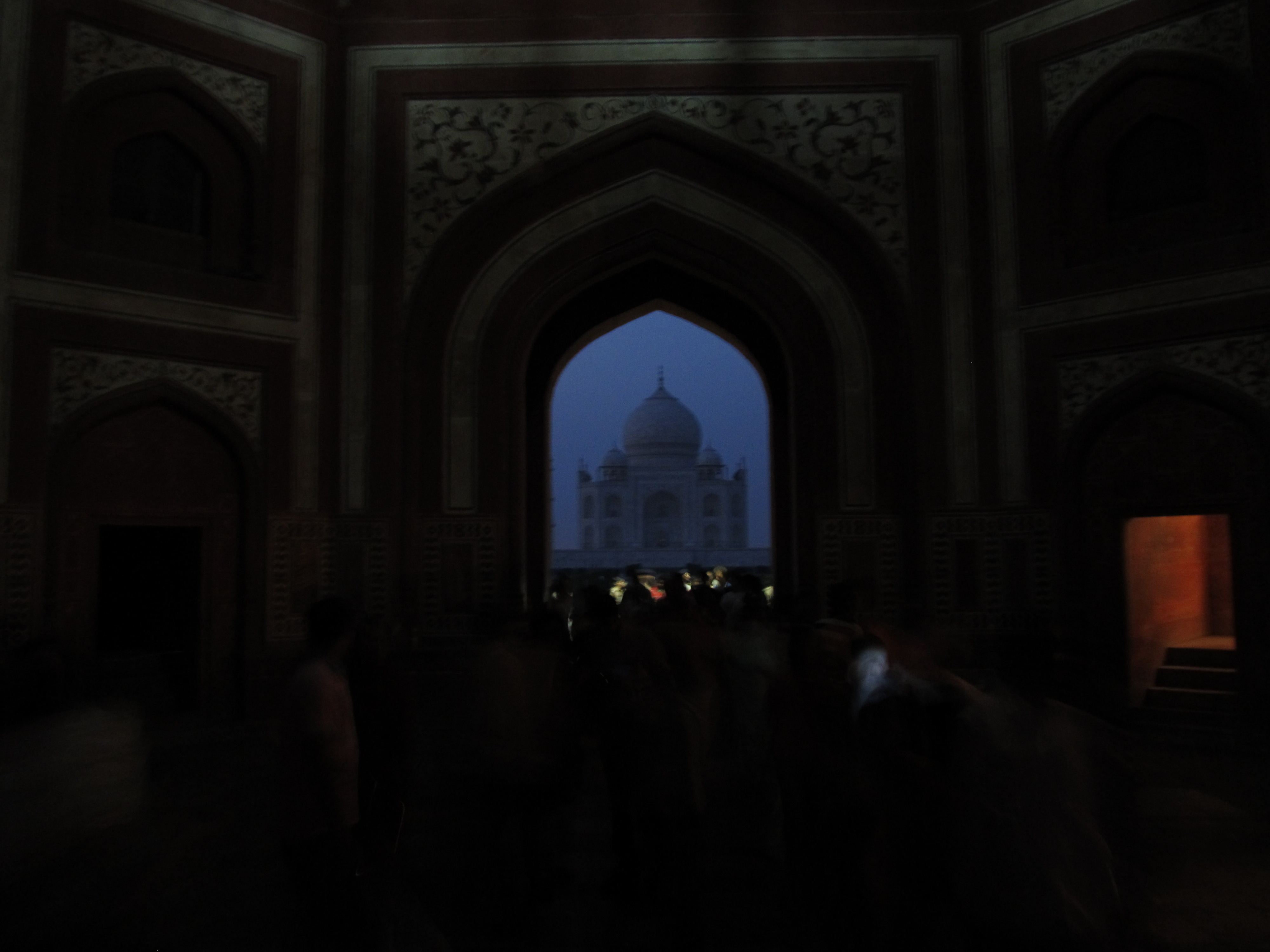 Taj in the dark