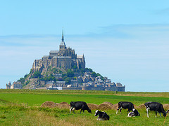 Mont-Saint-Michel and its Bay