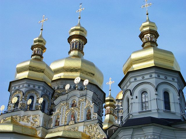 Golden domes of Kiev sophie