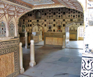 Interiors Amber Palace