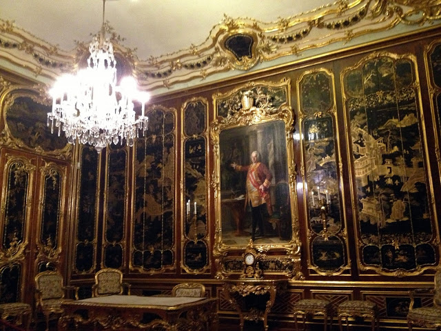 Asian-Inspired Room at the Schonbrunn Palace