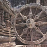 Wheel of Konarak Temple, Orissa