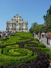 Macao historic center