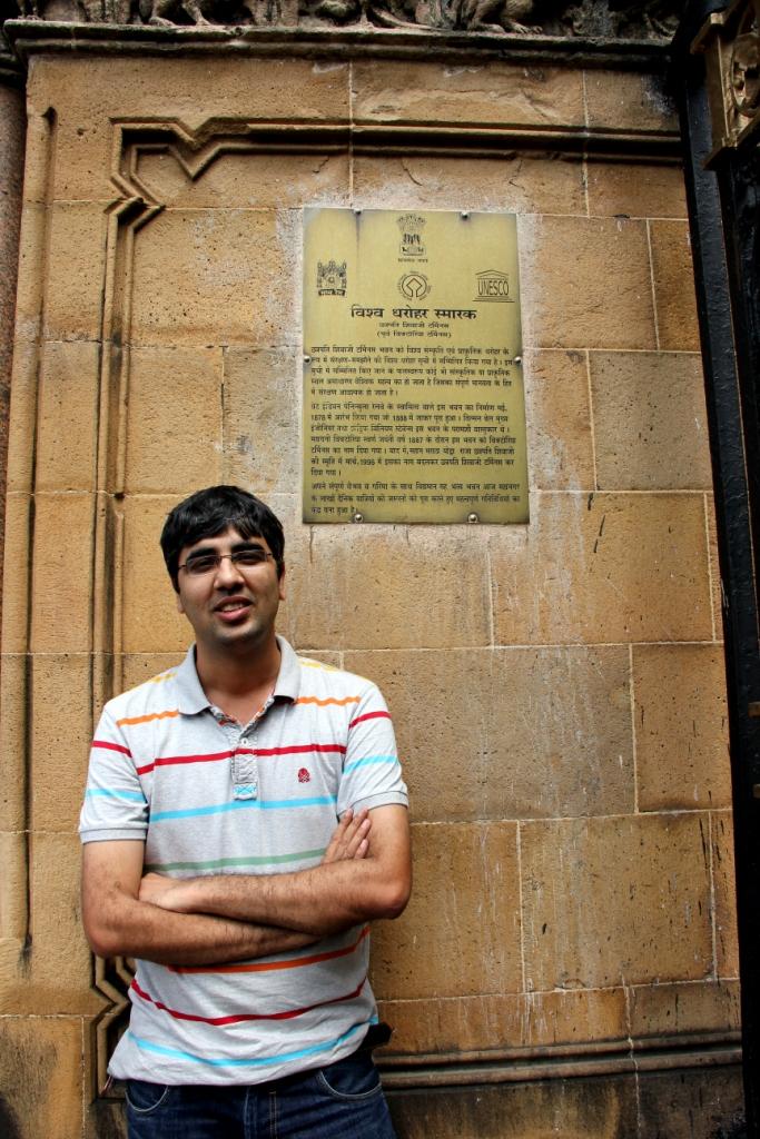 Nishant at CST