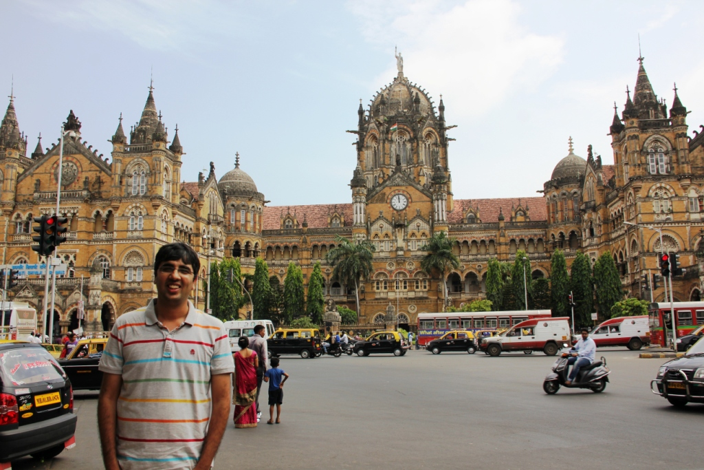 Nishant at CST