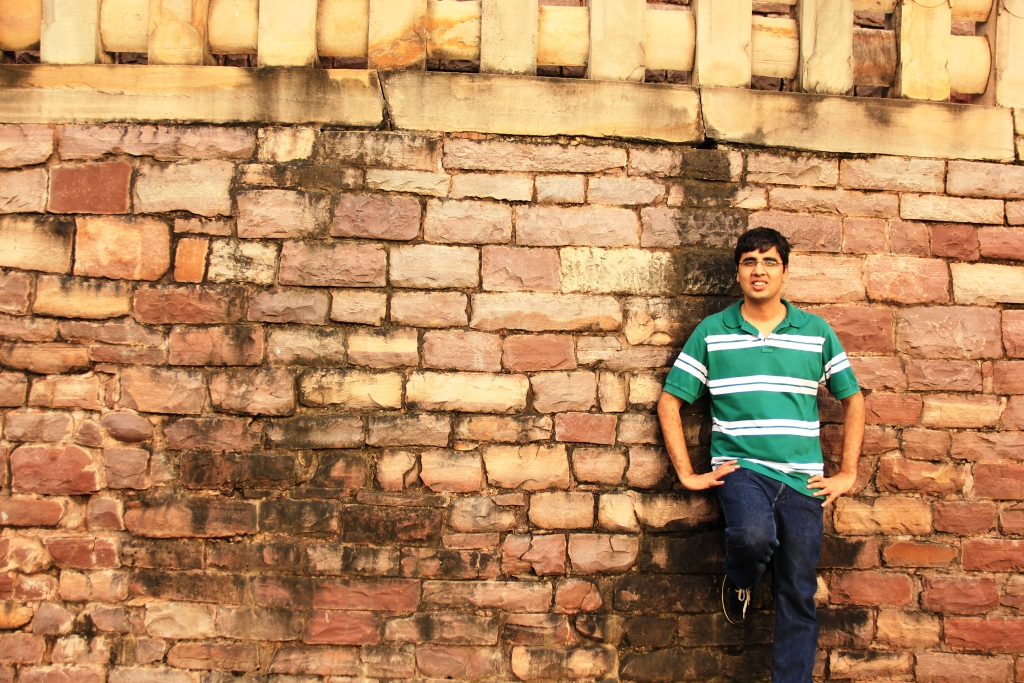 Nishant at Sanchi Stupa