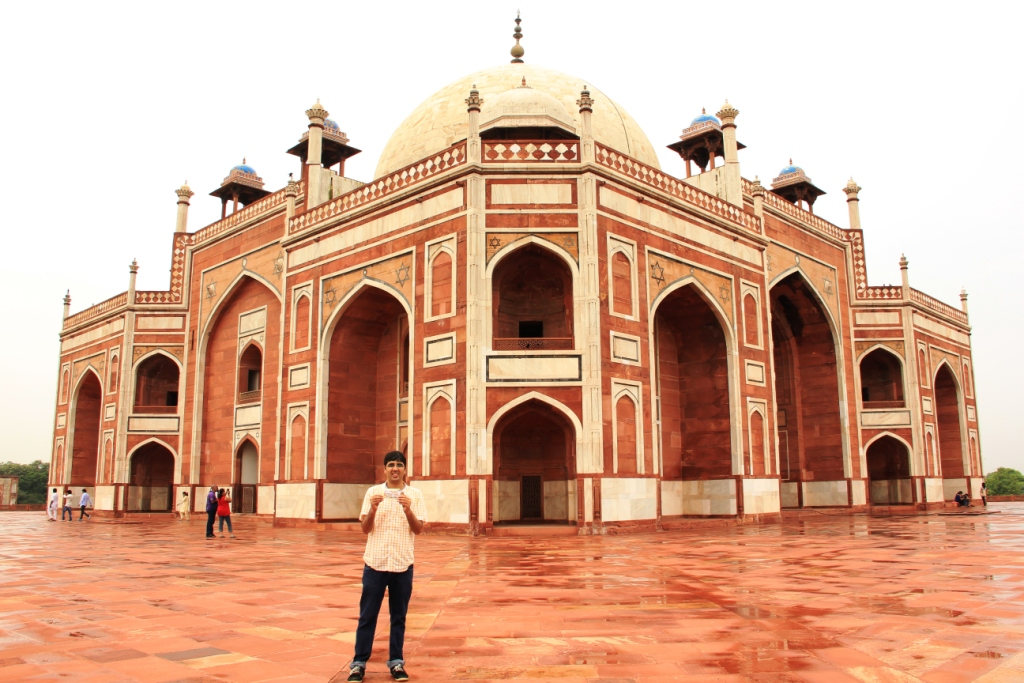 Nishant at Humayun's Tomb