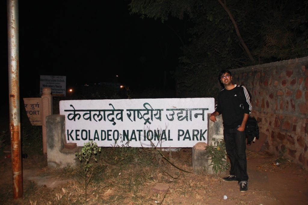 Nishant at Keoladeo National Park