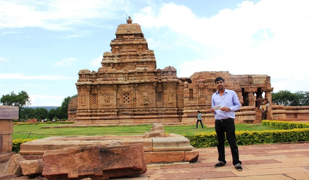 Nishant at Pattadakal