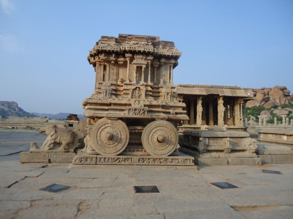 Copy of Chariot at Vithal temple, Hampi