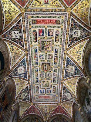 Italy-Siena-duomo-Picolomini-Library