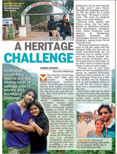 Deccan Chronicle Jan 2014