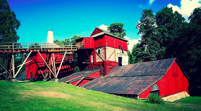 Industrial heritage in Sweden Engelsberg works