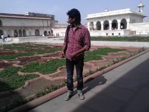 Agra Fort and Taj Mahal