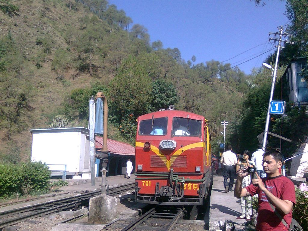 shimla rail