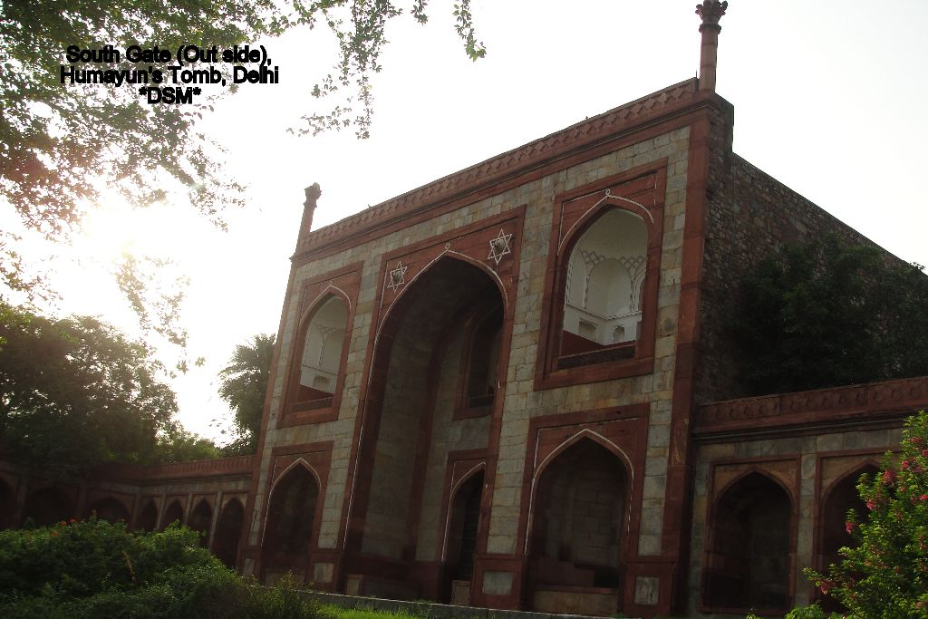 South Gate (Out side), Humayun's Tomb, Delhi 4