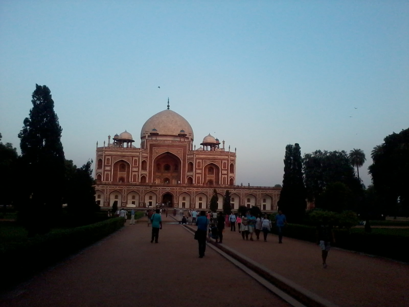 humayuns tomb delhi winter