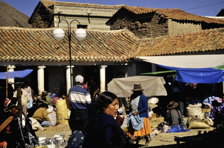 market day Historic City of Sucre - Bolivia