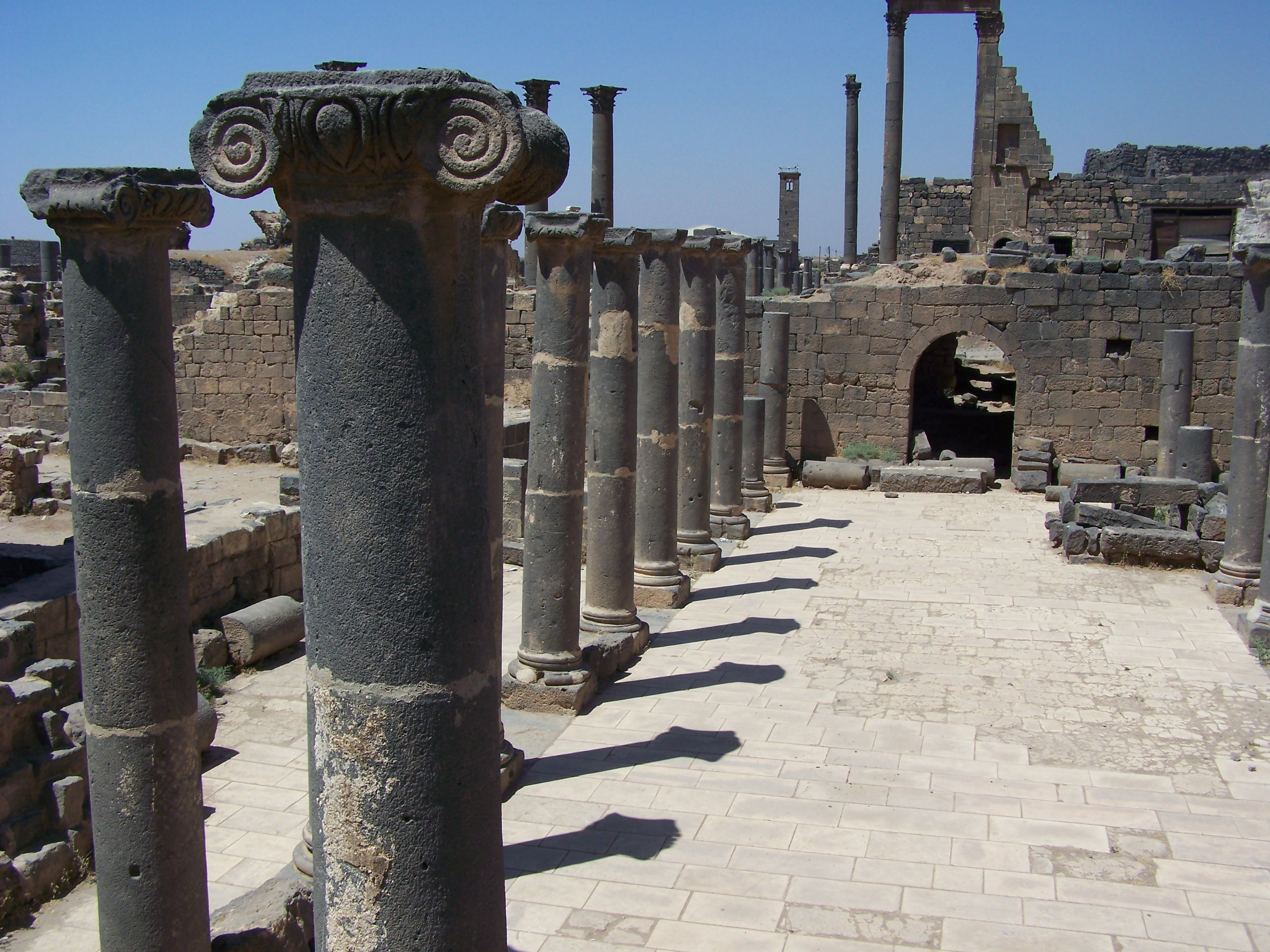 Ancient City of Bosra - Syrian Arab Republic Cathrin Eszbach