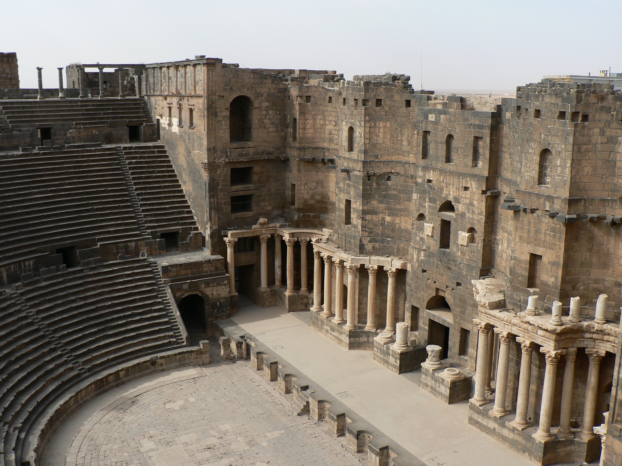 Amphitheatre at Bosra - Mark JamesVang