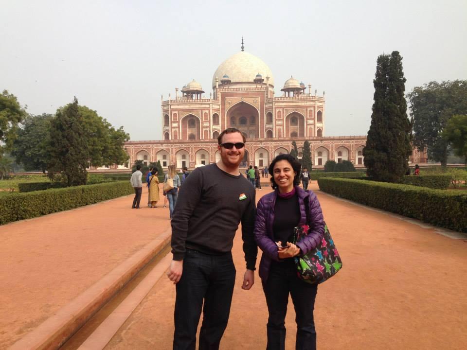 Visit to Humayun's Tomb Delhi