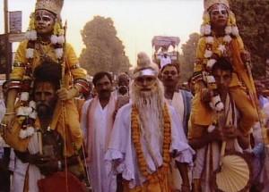 Ramlila, the traditional performance of the Ramayana