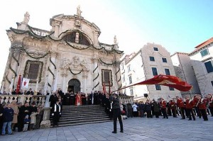 Festivity of Saint Blaise, the patron of Dubrovnik