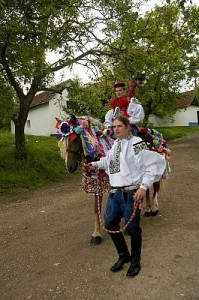 Ride of the Kings in the south-east of the Czech Republic