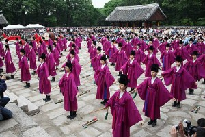 Royal ancestral ritual in the Jongmyo shrine and its music