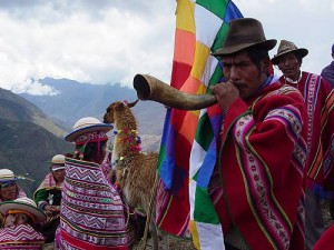 Andean cosmovision of the Kallawaya