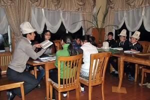 Kyrgyz epic trilogy: Manas, Semetey, Seytek